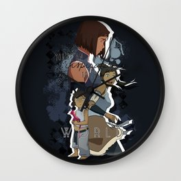 Korra - To The World Wall Clock