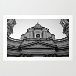 Sant'Agnese in Agone  Art Print