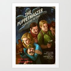 The PuppetMaster Art Print