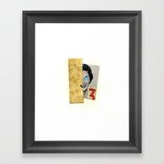 3 :) Framed Art Print