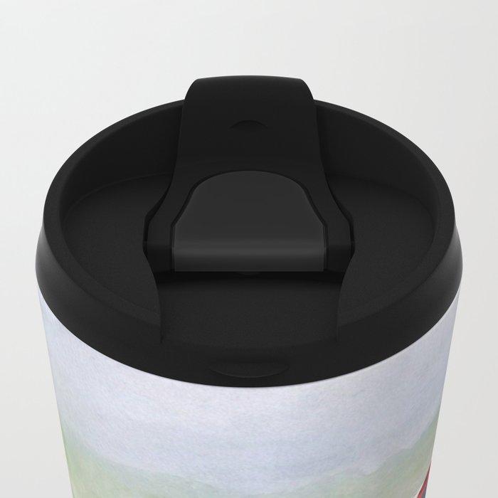 Red Cobra Metal Travel Mug