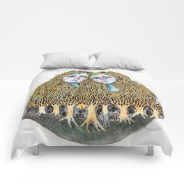 Goblin Market - illustration of poem by Christina Rossetti Comforters