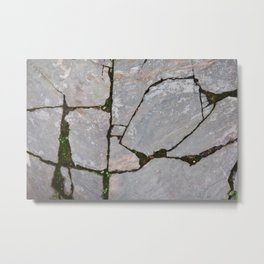Damaged stones pic Metal Print