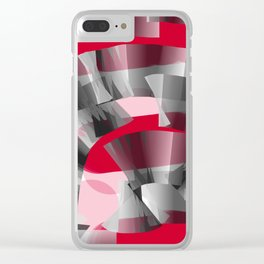 Tunnel of Love Clear iPhone Case