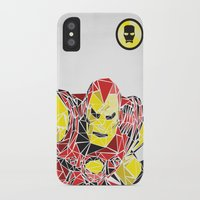 ironman iPhone & iPod Cases featuring Ironman by Josh Ln