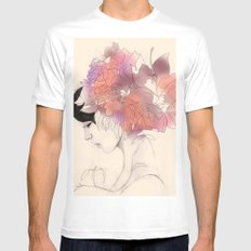 Sincerity White MEDIUM Mens Fitted Tee