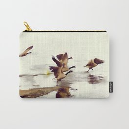 The Take Off - Wild Geese Carry-All Pouch