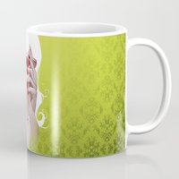 vampire diaries Mugs featuring Vampire by Kimball Gray