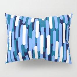 Fast Capsules Vertical Blue Pillow Sham