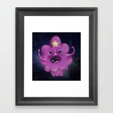 The Princess of Lumpy Space Framed Art Print