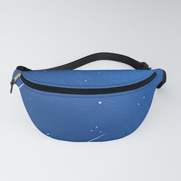 Shooting Stars in a Clear Blue Sky Fanny Pack