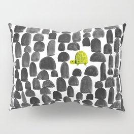Turtle in Stone Garden Pillow Sham