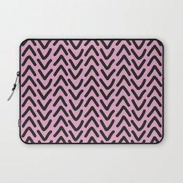 chevron pink rose Laptop Sleeve