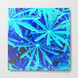Neon Jungle 002 Metal Print