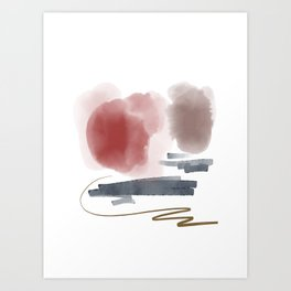 Introversion IX Art Print