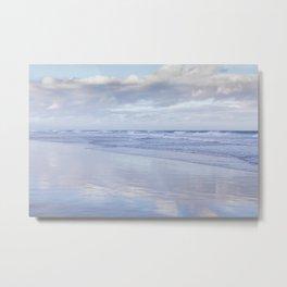Blue Beach Metal Print