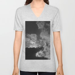 Clouds #2 Unisex V-Neck