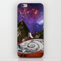 bath iPhone & iPod Skins featuring Hurricane bath by Blaz Rojs