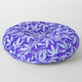 Purple Haze - Cannabis / Hemp / 420 / Marijuana  - Pattern Floor Pillow