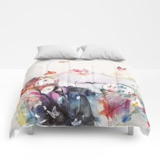 dreamy insomnia Comforters
