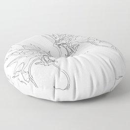 Mechanical Gyarados Floor Pillow