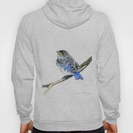 Blue Belle by Teresa Thompson Hoody
