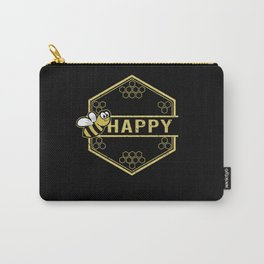 Happy BEE - Honey Beekeeping Beekeepers Carry-All Pouch