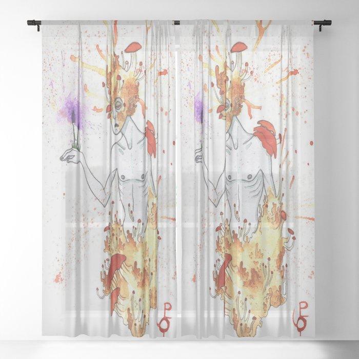 Mutation Sheer Curtain