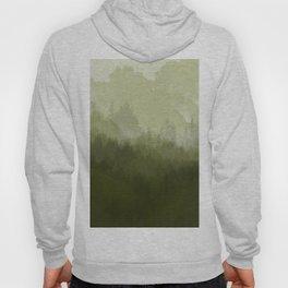 green forest fog Hoody
