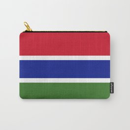 Gambia Flag Carry-All Pouch