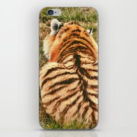 hobbes iPhone & iPod Skins featuring Hobbes.  by calvin./CHANCE