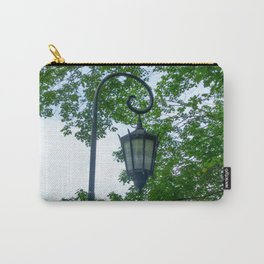 Lamppost Green Carry-All Pouch