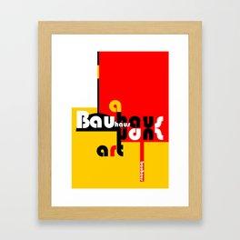 Bauhaus Lamp Framed Art Print