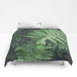 Fern Bush Nature Photography | Botanical | Plants Comforters