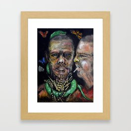 Queen of Fashion (oil on canvas) Framed Art Print