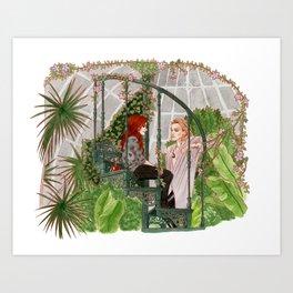 The Mortal Instruments Art Print