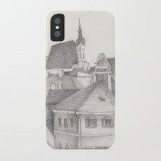 The Magic Town iPhone X Slim Case
