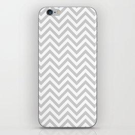 Grey Chevron iPhone Skin