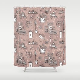Cozy home Shower Curtain