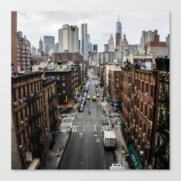 Chinatown of NYC Canvas Print