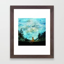 Calvin And Hobbes Framed Art Print
