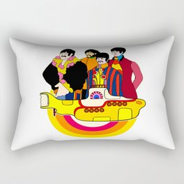 Yellow Submarine - Pop Art Rectangular Pillow