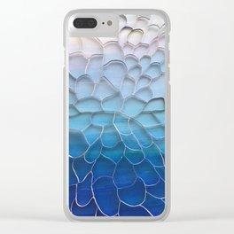 Periwinkle Dreams Clear iPhone Case