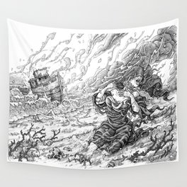 Providence Derelict Wall Tapestry