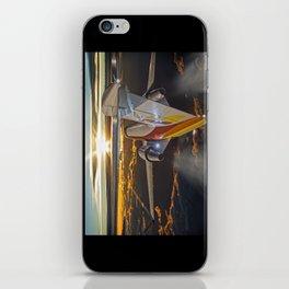 Flying at dawn iPhone Skin