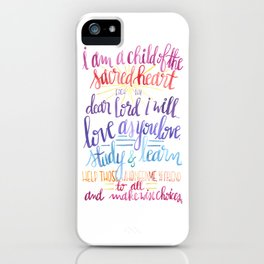 Child of the Sacred Heart iPhone Case