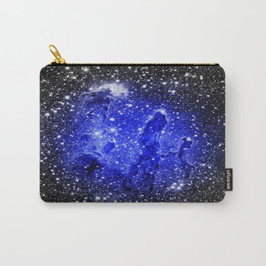 Galaxy : Pillars of Creation Blue Carry-All Pouch