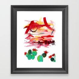 PHX Framed Art Print