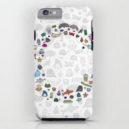 letter c - sea creatures iPhone Case