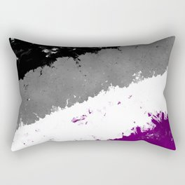 Splatter YOUR Colors - Ace Pride Rectangular Pillow